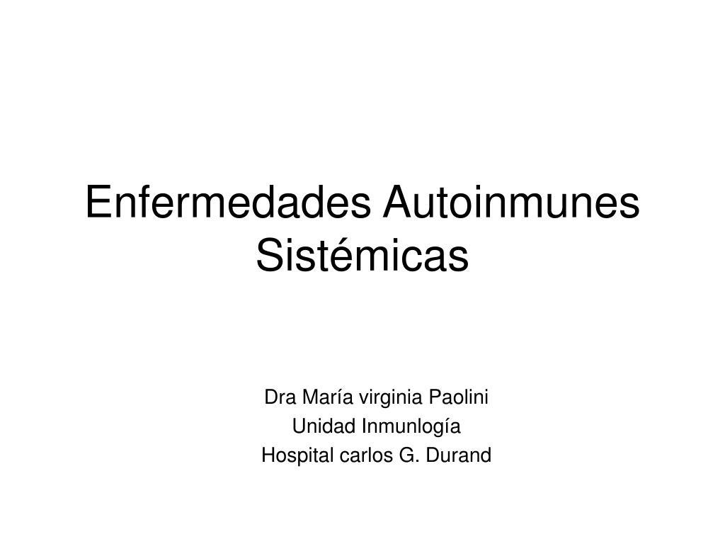 enfermedades autoinmunes sist micas l.
