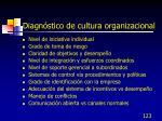 diagn stico de cultura organizacional