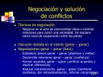 negociaci n y soluci n de conflictos137