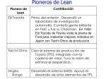 pioneros de lean72