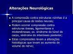 altera es neurol gicas