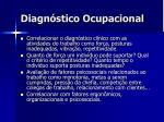 diagn stico ocupacional