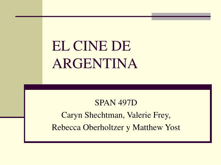 el cine de argentina n.