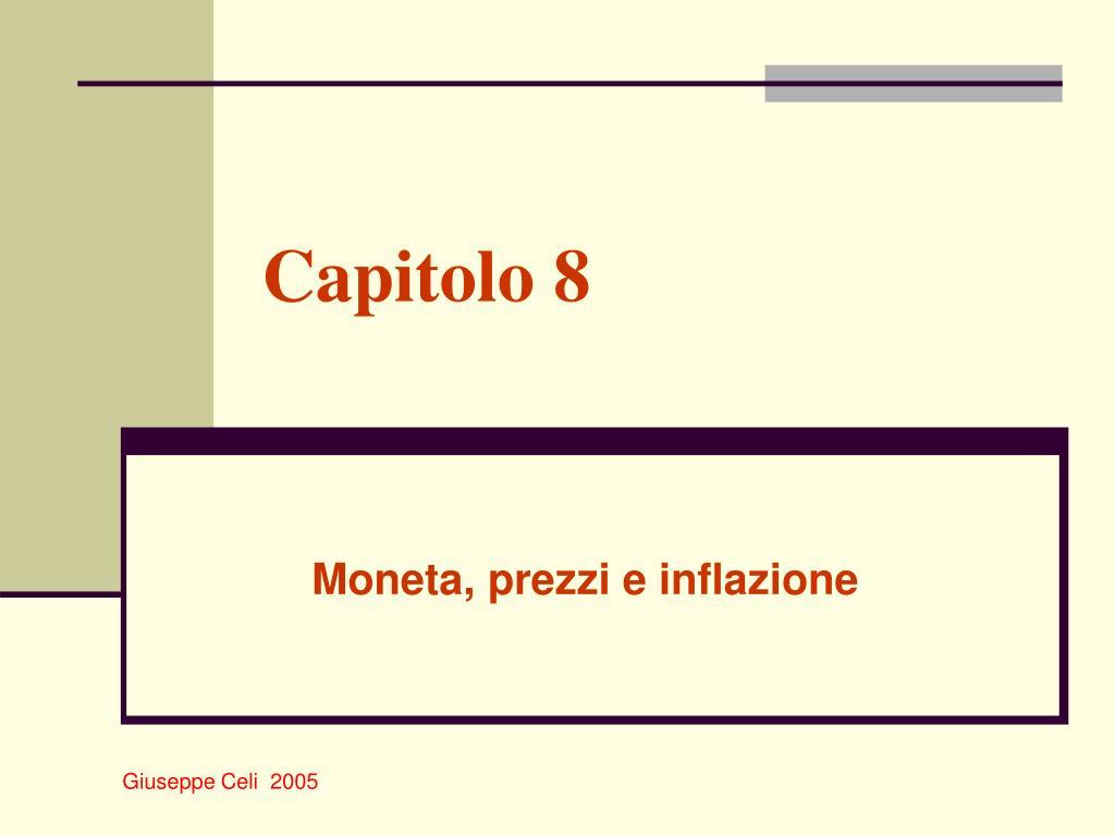 capitolo 8 l.