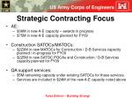 strategic contracting focus
