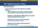 gic health insurance plans