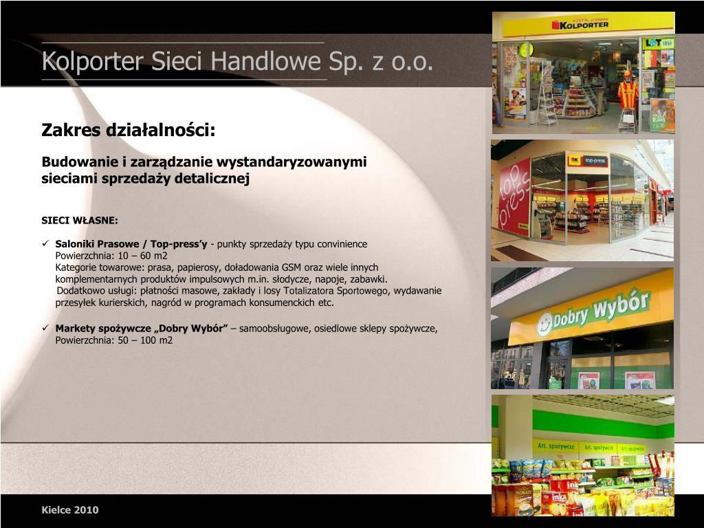 Kolporter Sieci Handlowe Sp. z o.o.