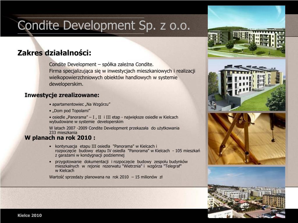 Condite Development Sp. z o.o.