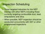 inspection scheduling17