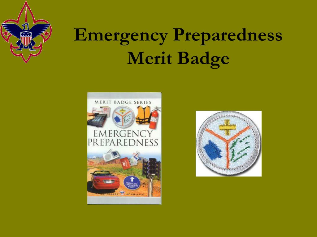 emergency preparedness merit badge l.