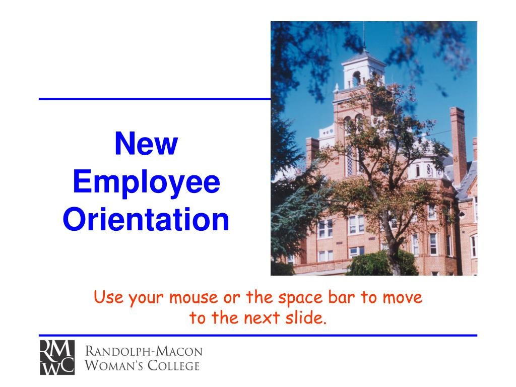 new employee orientation l.
