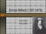 emma willard 1787 1870