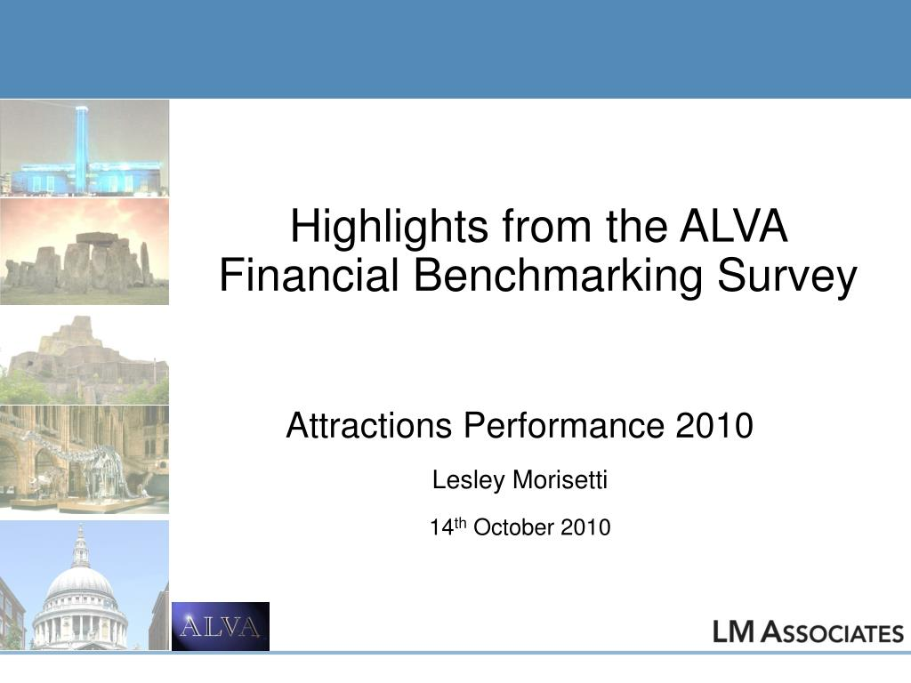 highlights from the alva financial benchmarking survey l.