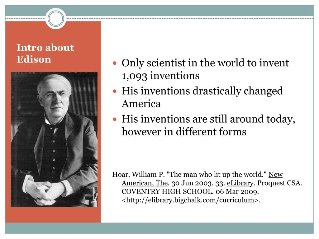 Only scientist in the world to invent 1,093 inventions