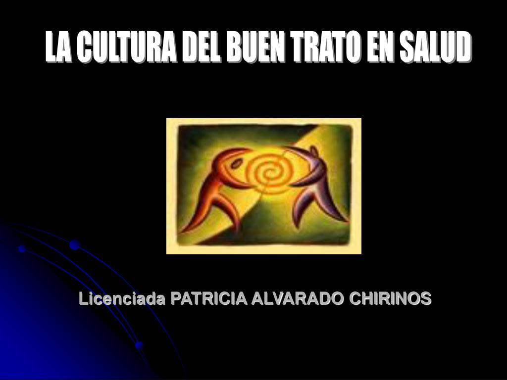 licenciada patricia alvarado chirinos l.