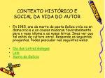 contexto hist rico e social da vida do autor12