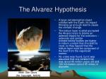 the alvarez hypothesis