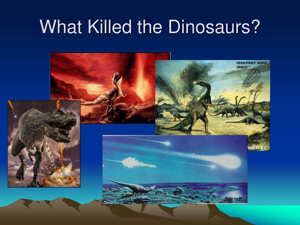 what killed the dinosaurs
