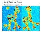 harris detector steps21