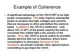 example of coherence19
