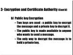 3 encryption and certificate authority cont d20