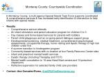 monterey county countrywide coordination