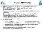 project launch pl
