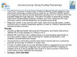 sonoma county strong funding partnerships