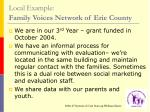 local example family voices network of erie county