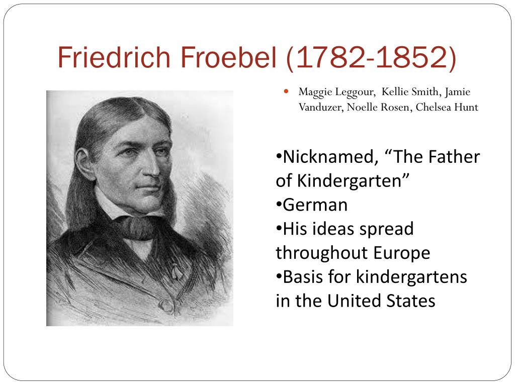 friedrich wilhelm froebel essay