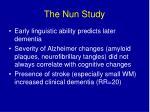 the nun study18