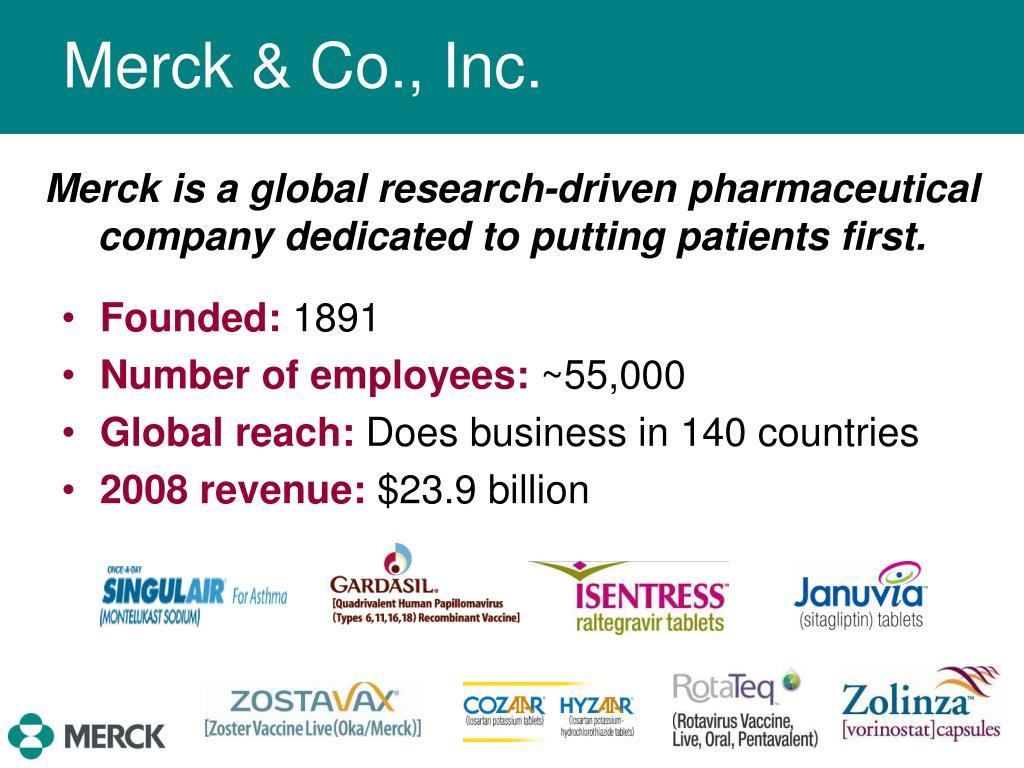 merck co inc case Merck & co, inc, msd consumer care quoting medtronic, inc v lohr, - 3 - case 3:14-cv-01371-dms-jlb document 15 filed 11/25/14 merck argues its labeling.