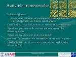 activit s transversales