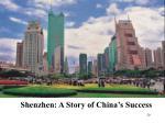 shenzhen a story of china s success