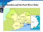 shenzhen and the pearl river delta