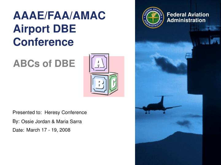 aaae faa amac airport dbe conference n.
