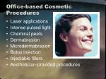 office based cosmetic procedures1