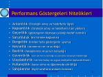 performans g stergeleri nitelikleri