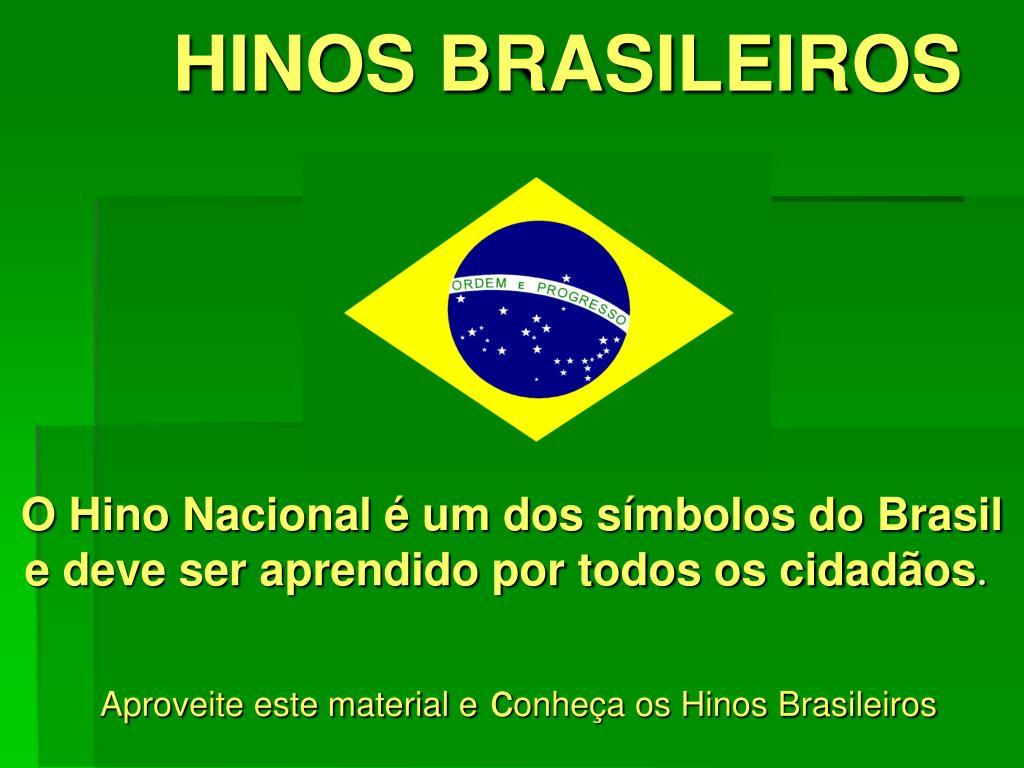 hinos brasileiros l.