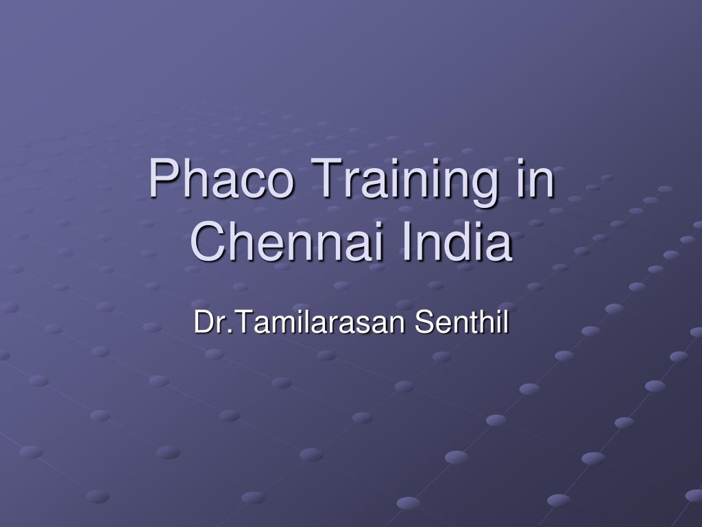 phaco training in chennai india l.