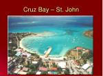 cruz bay st john