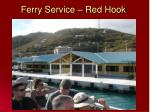 ferry service red hook
