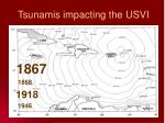 tsunamis impacting the usvi