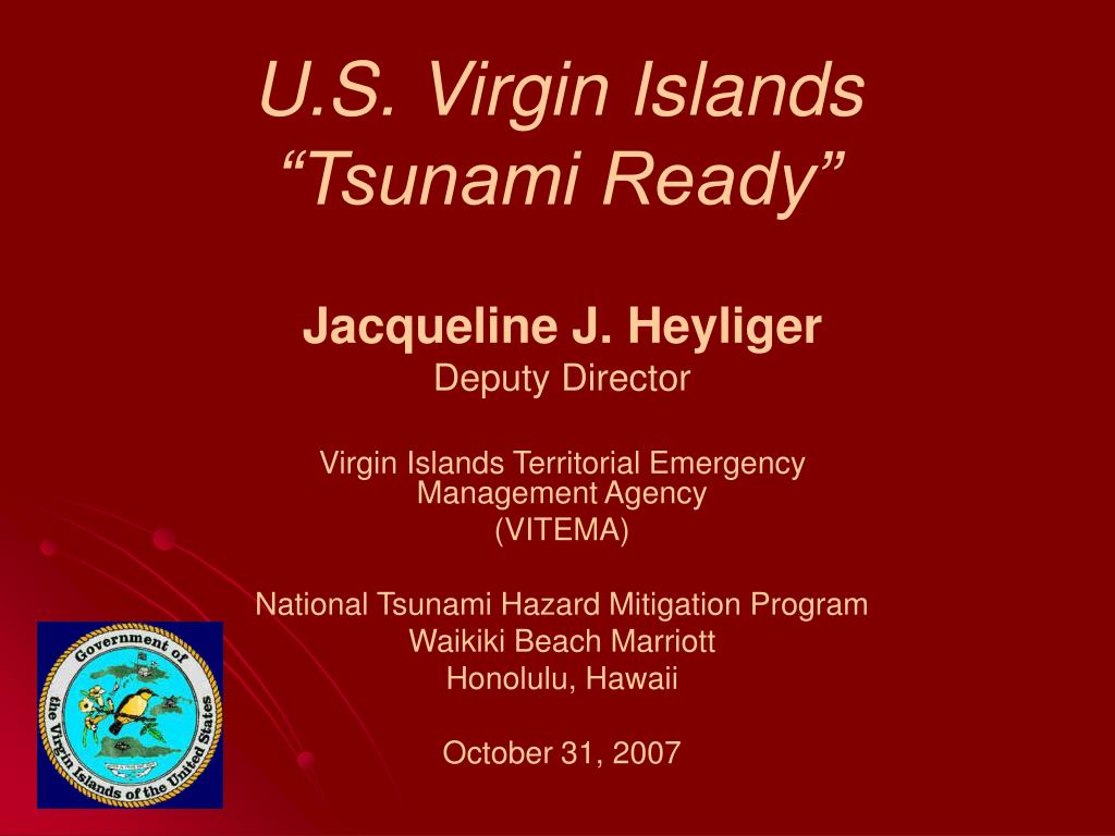 u s virgin islands tsunami ready l.