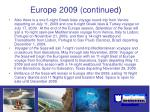 europe 2009 continued23