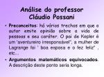 an lise do professor cl udio possani11