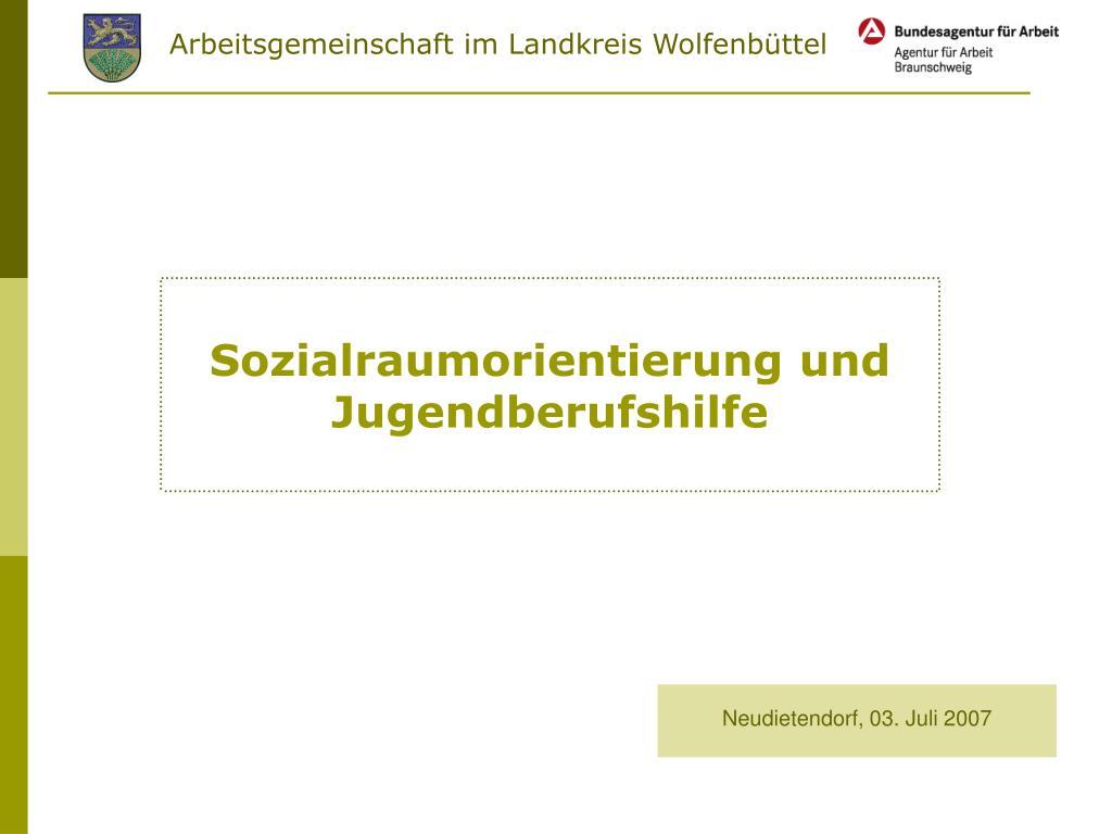 sozialraumorientierung und jugendberufshilfe l.