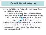 pca with neural networks