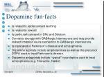 dopamine fun facts