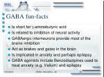 gaba fun facts